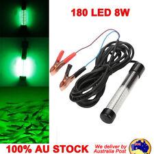 180 LED 8w Underwater Fishing Light Boat Squid Fish Prawn Waterproof 12-24v
