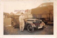 Kübelwagen Mercedes 170 VK an der Kaserne