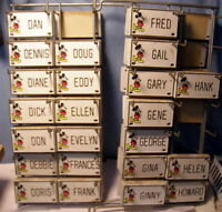 ** Vintage (NEW) - DISNEY - Door Name Plate - License Plate * D - H * pick ONE!