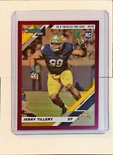 Jerry Tillery 2019 Donruss RC Purple Parallel #04/10 Los Angeles Chargers
