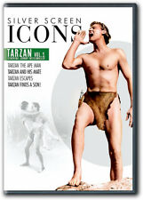 Tarzan The Ape Man Tarzan and His Mate Tarzan Escapes Tarzan Finds a Son DVD New