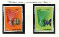 19167) UNITED NATIONS (New York) 1982 MNH** Nuovi** Nature