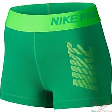 Women's Nike 3 Diagonal Stripe Compression Shorts in medium size
