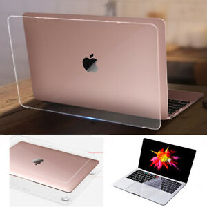 """Crystal Clear Hard Protective Case Shell for MacBook air pro 11"""" 12"""" 13"""" 15"""" 16"""""""