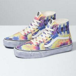 New Vans Washed SK8-Hi Tapered (VN0A4U1619X1) - Purple, Shoes Sneakers