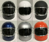 Big Full Face Helmet TT&CO Japan Vintage Clear Googles for Motorcycle Outdoor