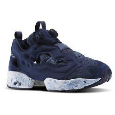 NIB $180 Reebok InstaPump Fury ACHM Size 9 Navy/Royal NIB Pump Shoe Marble Soles