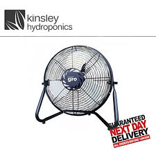 "9"" Smart Gro Fan Rapid Air movement 2 Speed Quality Steel Hydroponic Fresh  Fan"