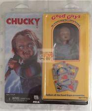 """CHUCKY 8"""" Inch CHILDS PLAY Retro CLOTHED Neca 2017 Horror FIGURE * IN STOCK *"""