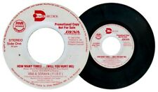 Philippines ANA & SORAYA (FIRE) How Many Times Promo Copy OPM 45 rpm Record