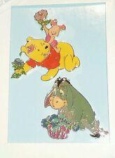 Disney Retired HTF Winnie the Pooh Piglet Eeyore Spring Time Pooh Book 2 Pin Set