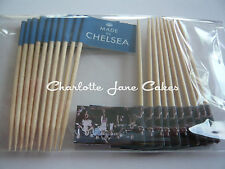 20 CUPCAKE FLAGS / TOPPER - MADE IN CHELSEA