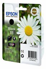 Epson T1801 Genuine Black Printer Ink Cartridge 18 Expression Home