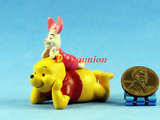 Cake Topper Disney Doll Figure Display Decor Diorama Winnie the Pooh Piglet A360