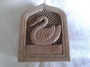 JALI Swan Box Soapstone, Beautifully Carved