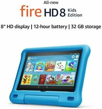 "AMAZON Fire HD 8"" Kids Edition Tablet (2020) - 32 GB, Blue (BRAND NEW)"