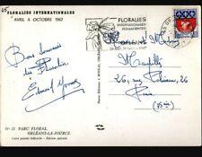 ORLEANS (45) PETIT TRAIN Touristique au PARC FLORAL animé / FLORALIES en 1967