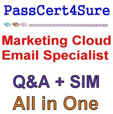 Salesforce Certified Marketing Cloud Email Specialist (SU18) Exam Q&A+SIM