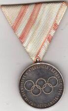 Official 1964 Innsbruck Austria Winter Olympic Games SILVER MERIT Medal German