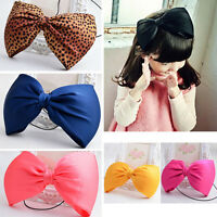 Baby Girl Infant Toddler Headband Big Bowknot Bow Hair Band Accessories Headwear