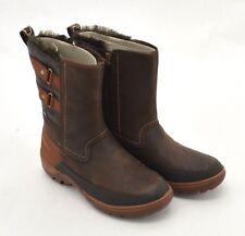 Merrell Women's Mid Calf Winter Boots: Sylva I Brown/Grey I Size 10 (MMN28)