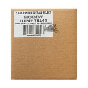 2013 Panini Select Football Hobby 12-Box Case