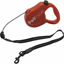 OFFICIAL LICENSED ANTI CHEW SMALL RED RETRACTABLE DOG PET LEAD 5 METRE 12KG