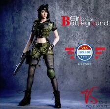 """1/6 Battlefield Girl Clothing Glove Hands Set A for 12"""" PHICEN Hot Toys"""