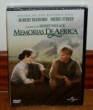 MEMORIAS DE AFRICA OUT OF AFRICA DVD NUEVO PRECINTADO ROBERT REDFORD (SIN ABRIR)
