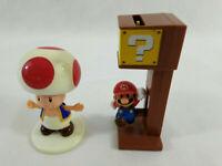 Lot de 2 figurines  Mario et Toad  Mc Donald's 2016  Envoi rapide et suivi