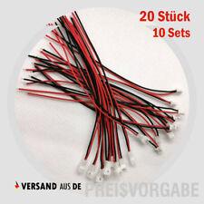 10 Paar 2 Pin JZP 100mm Pitch 2,54mm Stecker und Buchse Draht Stecker KabelZP