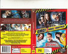 Zathura-2005-Josh Hutcherson/Zoom-2006-[2 Movies]-Movie-DVD