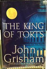 The King of Torts by John Grisham HC/DJ Signed - 1st/1st