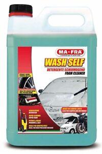 Detergente schiumogeno 5 LITRI MA-FRA WASH SELF 1PZ LAVAGGIO PROFESSIONALE