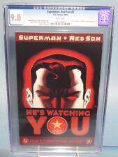 SUPERMAN: RED SON #3! CGC GRADED 9.8!