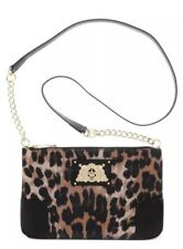 NWT Juicy Couture Leopard Malibu Gold Crossbody Shoulder Bag