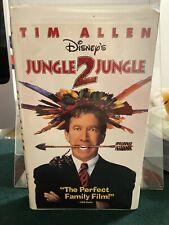 Jungle 2 Jungle VHS 1997 Vintage