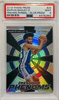 MARVIN BAGLEY III 2018 PANINI PRIZM CARD #24 PSA GRADED 9 KINGS FRESHMAN PHENOMS