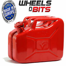 10L Litre RED JERRY MILITARY CAN FUEL OIL WATER PETROL DIESEL red BLUE GREEN