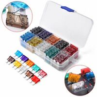 100Pcs Standard Auto Car Assorted Blade Fuse Sets Assortment Kits 2A-35A W/ Box