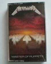 Original Still Sealed 1986 Metallica Master of Puppets Cassette First Press