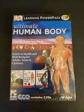 Ultimate Human Body Anatomy Dk Learning Powerpack Family Reference Cd Rom Sealed