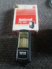 NATIONAL PE-145 Electronic Flash U with Original Box . For parts.