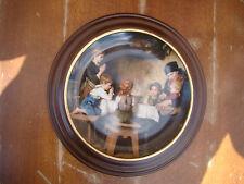 Sammelteller Teller Das Tischgebet Lilien Porzellan Bradex im Holzrahmen