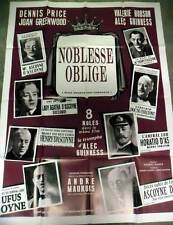 NOBLESSE OBLIGE - Price,Guinness,Hobson - AFFICHE 120x160/47x63 FRENCH POSTER RR