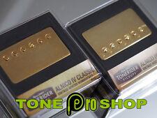 Tonerider Alnico IV Classics Humbucker Pickup Set - Gold