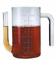 MasterClass Glass Gravy  Fat Separator Jug, 450 ml 16 fl oz