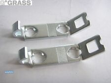 Front Fixing Brackets for Grass Nova Pro Classic Drawers (pair)