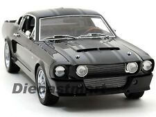 SHELBY COLLECTIBLES 1:18 1967 GT500 SUPER SNAKE DIECAST MODEL BLACK