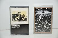 Neil Young Mirror Ball 1995 Cassette Tape & Choose a Time 1978 Lot of 2